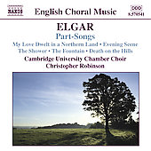 English Choral Music - Elgar: Part-Songs / Robinson, et al