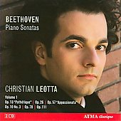 Beethoven: Piano Sonatas nos 8, 7,12, 23, 24, 32 / Christian Leotta