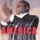 Songs of America - Copland, Gershwin, Ellington, etc / Oral Moses, Rosalyn Floyd, Timothy Holley