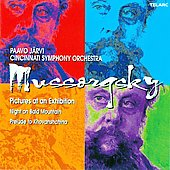 Mussorgsky: Pictures at an Exhibition, Night on Bald Mountain, etc / Paavo Järvi, Cincinnati SO