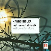 Eisler: Instrumental Music / R&ouml;gner, Herbig, Pommer, Olbertz, et al