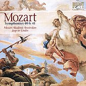 Mozart: Symphony no 40 & 41 / Jaap ter Linden, Amsterdam Mozart Academy