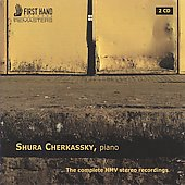 The Complete HMV Stereo Recordings - Shura Cherkassky