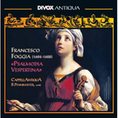 Francesco Foggia: Psalmodia Vespertina / Five Psalms, Magnificat & Salve Regina