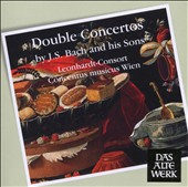 Double Concertos by Bach and His Sons