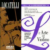 Locatelli: L'Arte del Violino Vols 1 & 2 / Tenenbaum, Kapp
