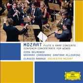 Mozart: Sinfonia Concertante for Winds; Flute & Harp Concerto / Abbado