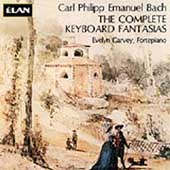 C. P. E. Bach: Complete Keyboard Fantasias / Evelyn Garvey