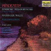 Hindemith: Symphonic Metamorphosis, etc / Levi, Atlanta SO