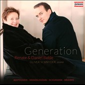 Generation / Songs & Duets by Mendelssohn, Beethoven, Schumann, Brahms, Wolf, Liszt, Wagner / Renate and Daniel Behle