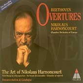 Beethoven: Overtures / Nikolaus Harnoncourt, CO of Europe