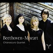 Beethoven: String Quartet no. 11; Mozart: String Quartet no. 16; Adagio & Fugue / Chiaroscuro Quartet