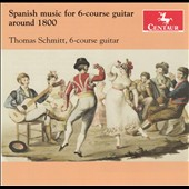 Spanish Music for Six-Course Guitar around 1800 - Castro De Gistau, Laporta and Mor