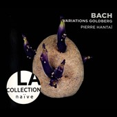 Bach:  Goldberg Variations / Pierre Hantai, harpsichord