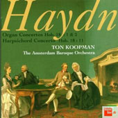 Haydn: Organ Concertos, Harpsichord Concertos / Ton Koopman
