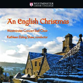 An English Christmas - Traditional carols performed by the Westminster Concert Bell Choir / Kathleen Ebling Shaw