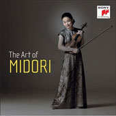 The Art of Midori - Sonatas, Concertos & Encore Pieces by Paganini, Dvorak, Beethoven, Strauss, Chopin, Debussy, Ravel, Sibelius, Bruch, Tchaikovsky, Shostakovich, Bach, Mozart et al. [10 CDs]