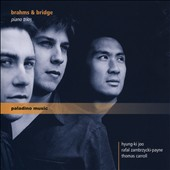 Brahms: Piano Trio No. 1, Op. 8; Frank Bridge: Phantasie No. 1 in C minor for piano trio / Hyung-ki joo, piano; Rafal Zambrzycki-Payne, violin; Thomas Carroll, cello