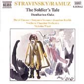 Stravinsky: The Soldier's Tale, Dumbarton Oaks / Northern CO
