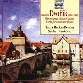 Dvorák: Works for Violin & Piano / Becker-Bender, Brankovic