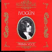 Prima Voce - Maria Ivog&uuml;n