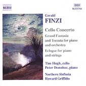 Finzi: Cello Concerto, etc / Hugh, Donoboe, Griffiths, et al