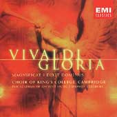 Vivaldi: Gloria, etc / Cleobury, King's College Choir, et al
