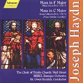 Haydn: Mass in F, Mass in C / Burdick, Trinity Church, et al