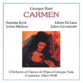 Bizet: Carmen / Wolff, Juyol, Micheau, De Luca, Giovanetti