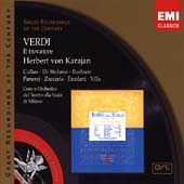 Verdi: Il Trovatore / Karajan, Callas, Panerai, Barbieri