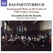 Das Partiturbuch / Zincke, Ensemble Echo du Danube