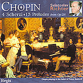 Chopin: Scherzi, Preludes / Sviatoslav Richter