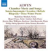 Alwyn: Chamber Music and Songs / Chase, Ball, Turner, et al