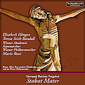 Pergolesi: Stabat mater dolorosa, etc / Rossi, et al