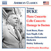 American Classics - Duke: Piano and Cello Concertos, etc
