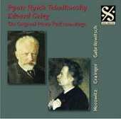 The Original Piano Roll Recordings - Tchaikovsky, Grieg / Horowitz, Grainger, et al