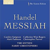Handel: Messiah / Christophers, Sampson, Padmore, The Sixteen, et al