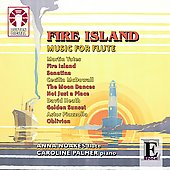 Yates: Fire Island;  Heath, Piazzolla, McDowall: Music for Flute / Noakes, Palmer, Pearson