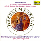Handel: Messiah / Shaw, Stilwell, McNair, Erickson