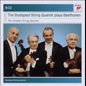 Beethoven: String Quartets (Complete) / The Budapest Quartet [8 CDs]