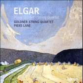 Elgar: Piano Quintet; String Quartet / Piers Lane, Goldner Qrt.