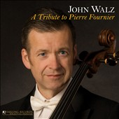 A Tribute to Pierre Fournier: works by  Martinu, Vivaldi, Couperin / John Walz, cello; Edith Orloff, piano