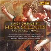 Cherubini: Missa Solemnis No 2. in D Minor / Wiebe, Jungwirth, Orrego, Friedrich