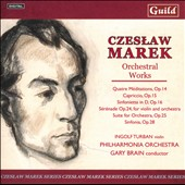 Czeslaw Marek: Orchestral Works - Capriccio, Op. 15; Sinfonietta, Op. 16; Suite for Orchestra, Op. 25; Sinfonia, Op. 28, et al.