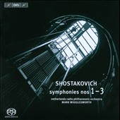 Shostakovich: Symphonies Nos. 1-3 / Wigglesworth