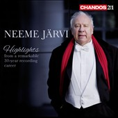 Neeme Jarvi - Highlights from a remarkable 30-year recording career