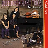 Beethoven: Piano Trios Vol 1 / Trio Italiano