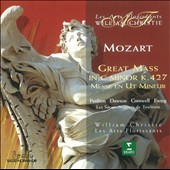 Mozart: Mass in C minor K427 / William Christie, Les Arts Florissants; Les Sacqueboutiers / Petibon, Dawson, Cornwell, Ewing