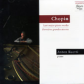 Chopin: Sonata no 3 in B minor, etc / Anton Kuerti