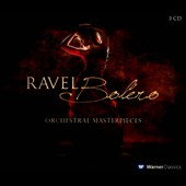 Bolero - Orchestral Masterpieces by Ravel / Pierre Amoyal; Jean-Claude Hermengat; Jerome Capeille